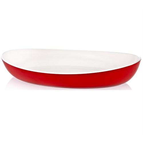 LoveQ Oval Çift Renkli Salata