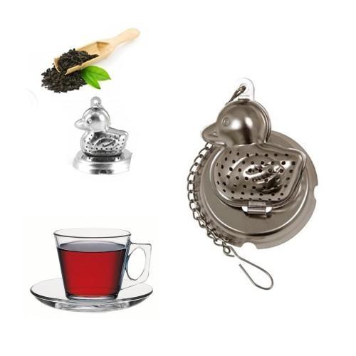 Buffer Bardakta Çay Demleyen Sevimli Çelik Ördek