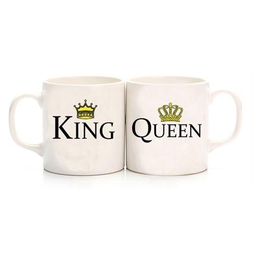Köstebek King And Queen Sevgili Kupa