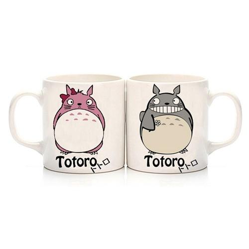 Köstebek Totoro Çift Kupa