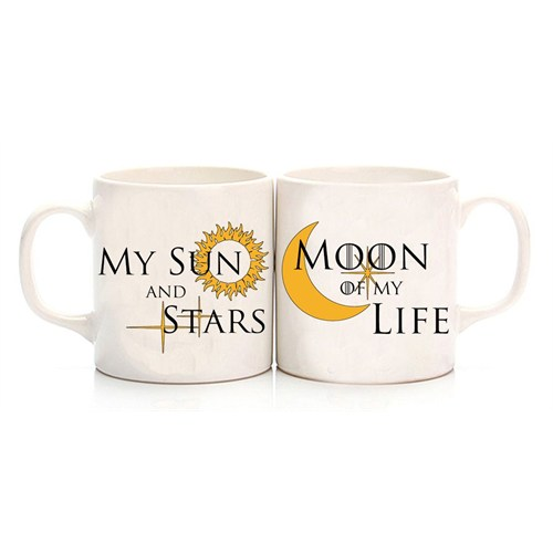 Köstebek Game Of Thrones - My Sun And Stars & Moon Of My Life Sevgili Kupa
