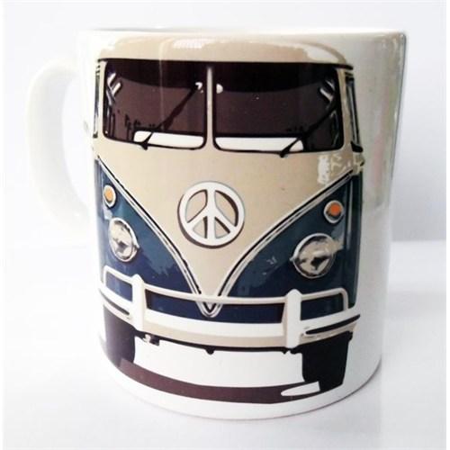 Köstebek Volkswagen Transporter Önden Görünüm Mavi Kupa