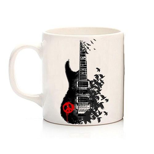 Köstebek Peace Guitar Kupa
