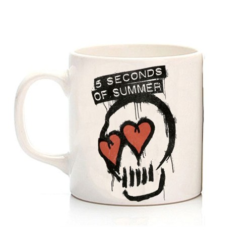 Köstebek 5 Seconds Of Summer - 5Sos Skull Kupa