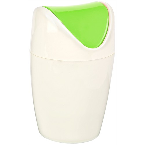 Bager Set Üstü Çöp Kutusu - 1 Lt. - Yeşil