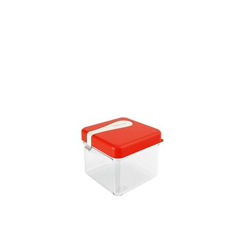 Miradan Luna Kaşıklı Saklama Kabı - 0,50 Lt - Kırmızı
