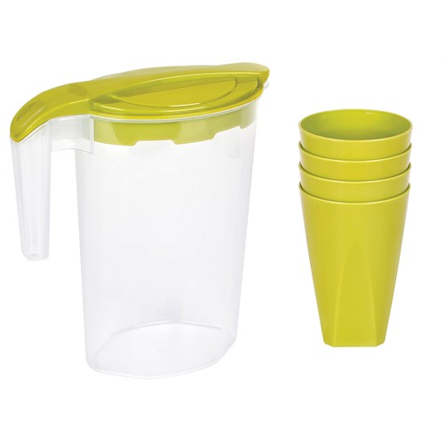 Bager Yonca 5 Parça Su Takımı - Yeşil
