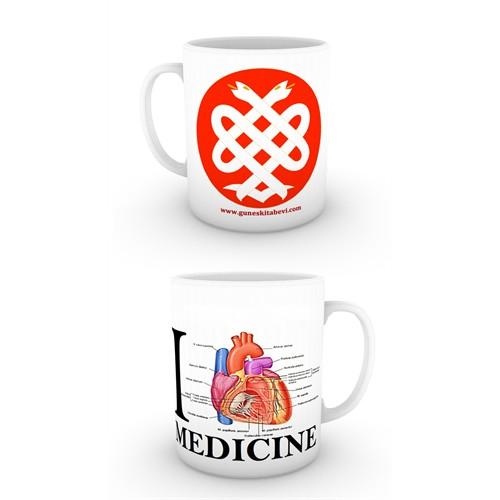 Love Medicine Tıp Logosu Kupa