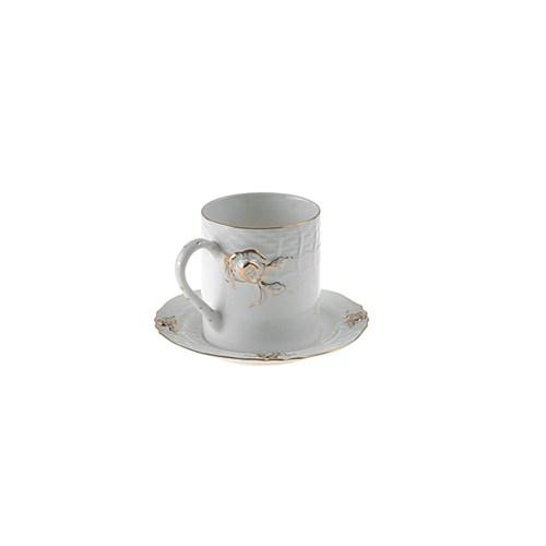 Lucky Art Rosella Gold 6'Lı Çay Fincan Seti - Lyfr 087