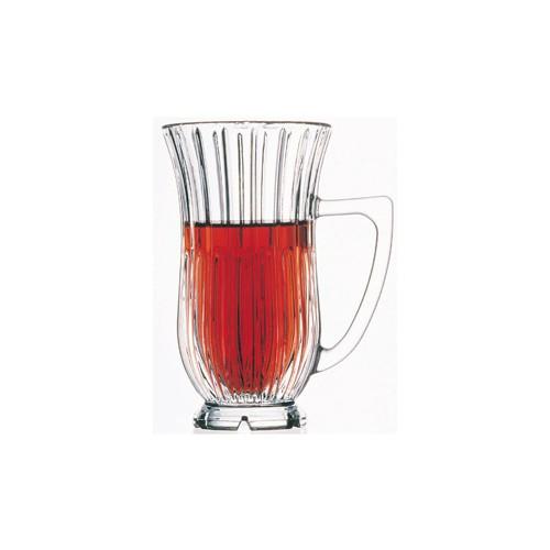 Paşabahçe Tekli Nude Kulplu Çay Bardağı
