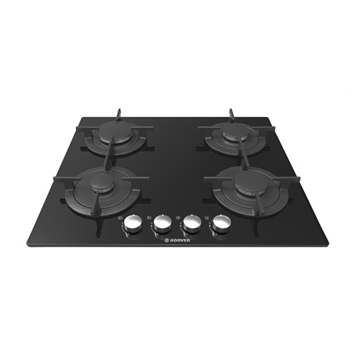 Hoover HGV 64 SCB 4 Gözü Gazlı Siyah Cam Ankastre Ocak