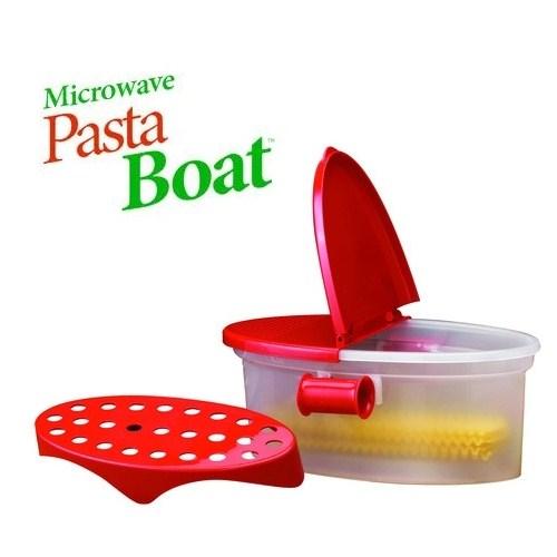 Pasta Boat Mikrodalgada Hızlı Makarna Pişirici