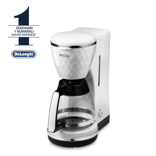Delonghi ICMJ210W Filtre Kahve Makinesi - Beyaz