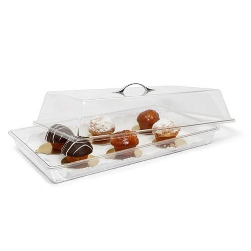 Bora Dikdörtgen Pasta Kek Kabı Takım 545X328x150 Metal - Bo 355