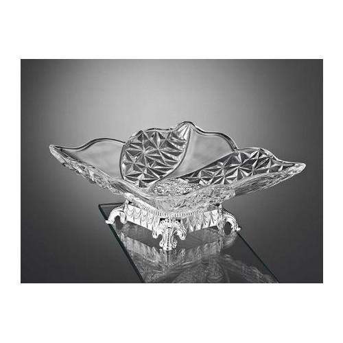 Carat Dekoratif Kristal Ayaklı Şekerlik