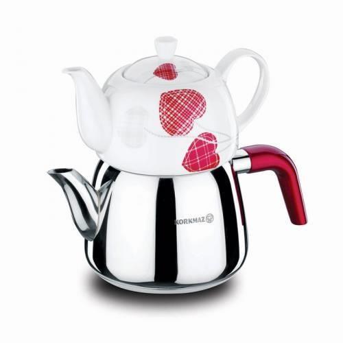 Korkmaz Bonjour Çaydanlık Takımı