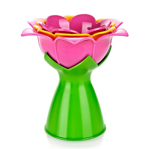 Buffer Manolya Çiçek Tasarımlı Huni Seti