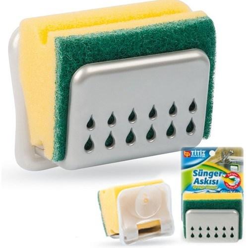 Buffer Vantuzlu Sünger Askısı Sponge Hanger