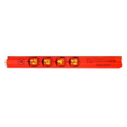 Great Mauntain Bambu Chopstick-Tensoge Kırmızı Ambalajlı (24Cm)