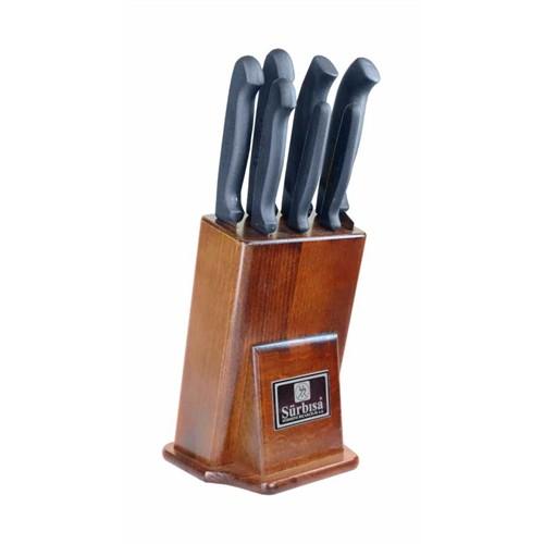 Sürmene Sürbisa 61510 Mutfak Bıçakları Seti Pimsiz (7' Li Set)