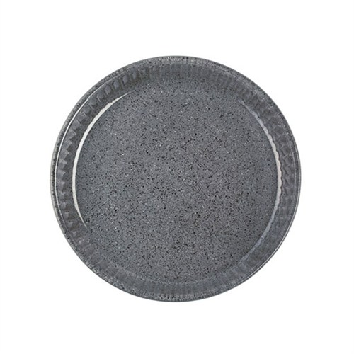 Paşabahçe Borcam Granit Borcam - Yuvarlak Koyu Gri - 26 Cm