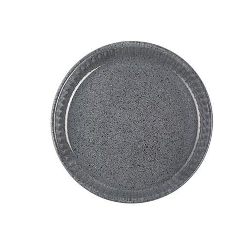 Paşabahçe Borcam Granit Borcam - Yuvarlak Koyu Gri - 32 Cm