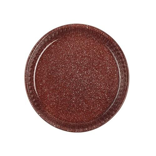 Paşabahçe Borcam Granit Borcam - Yuvarlak Kiremit - 32 Cm