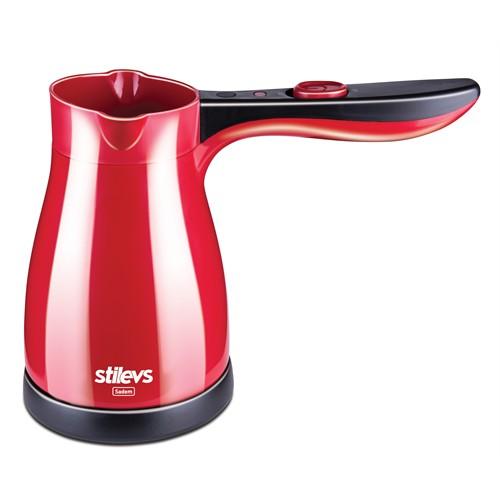 Stilevs Sadem Kahve Makinesi - Kırmızı&Siyah