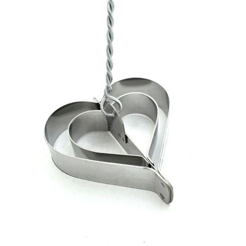 Nomnom Demir Tatlısı Kalıbı - Seven Kalpler Modeli