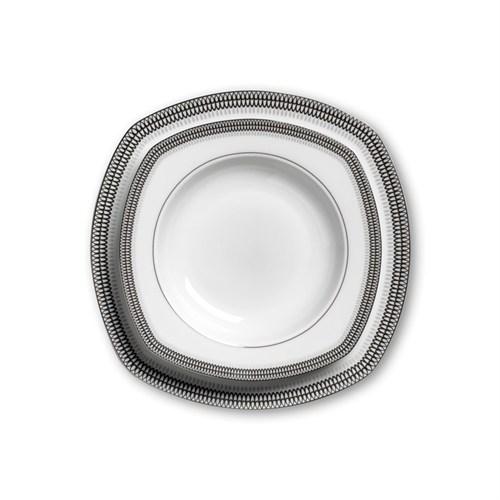 Korkmaz A8107 Belinda Collectıon 86 Parça Yemek Takımı (Kare)