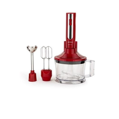 Arnica Master Cook El Blender Seti Kırmızı