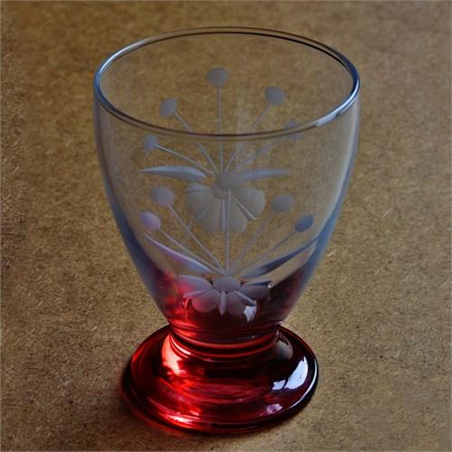 Başak 41011 Çın Çın 12 Adet (Kırmızı Frezya) Su-Meşrubat Bardaği