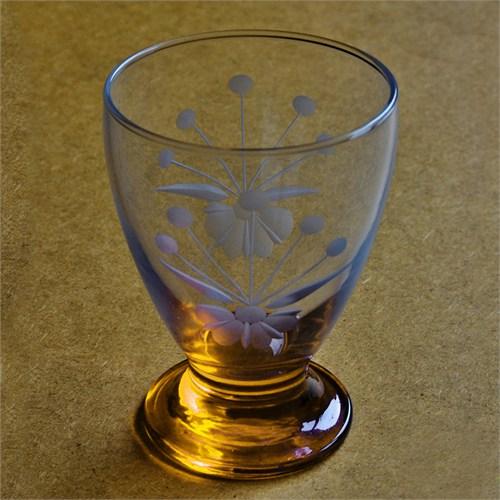 Başak 41011 Çın Çın 12 Adet (Turuncu Frezya) Su-Meşrubat Bardaği