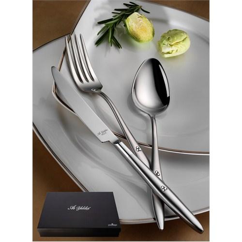 Aryıldız Bijoux Serisi Elegant 89 Parça Kutulu Yemek Takımı
