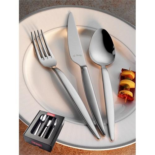 Aryıldız Çeşme Mat 24 Parça Yemek Takımı