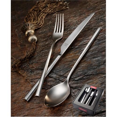 Aryıldız De Luxe Mat 18 Parça Yemek Takımı