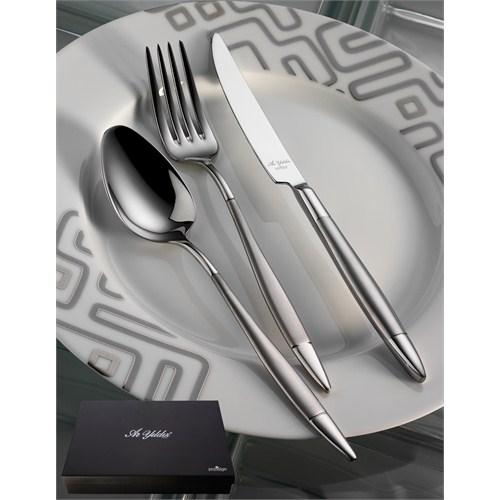 Aryıldız Elegant Prestige Mat 89 Parça Kutulu Yemek Takımı