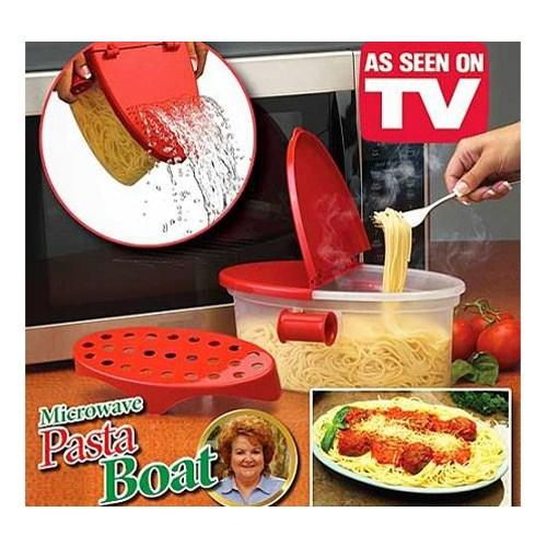 Pasta Boat Mikrodalga Hızlı Makarna Pişirici