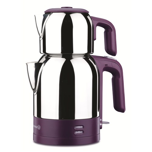 Korkmaz A 359-01 Demkolik Elektrikli Çaydanlık - Violet