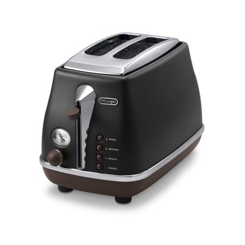 Delonghi CTOV2003.BK Icona Vintage Serisi Ekmek Kızartma Makinesi