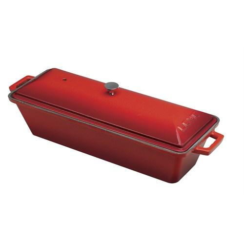 Lava Ekmek Kabı Terrine Kırmızı
