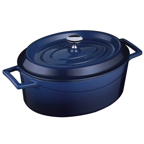 Lava Oval Tencere - Çap(Ø)25 Cm. Mavi