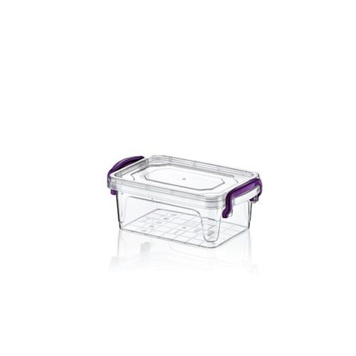 Hobby Life Plastik 0,3 Lt Diktörtgen Mülti Box Saklama Kabı 6 Lı
