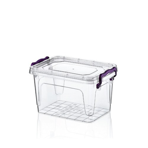 Hobby Life Plastik 1 Lt Diktörtgen Multi Box Saklama Kabı 6 Lı