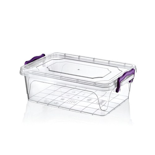 Hobby Life Plastik 3,8 Lt Dikdörtgen Multi Box Saklama Kabı