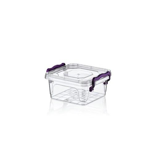 Hobby Life Plastik350 Ml Kare Multi Box 6 Lı Saklama Kabı