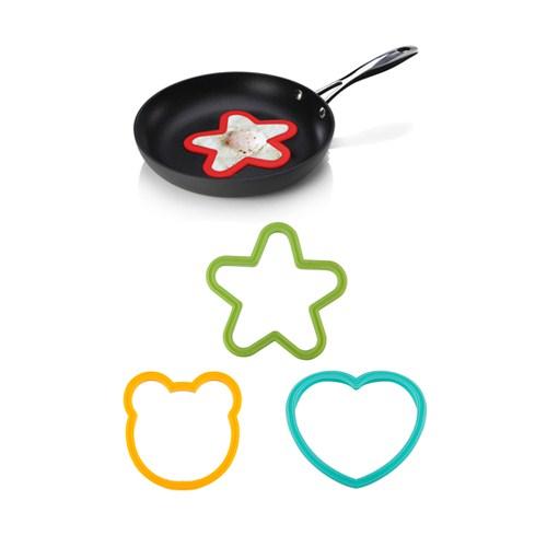 Bundera Omlet Ve Krep Şekil Verici Silikon Kalıplar