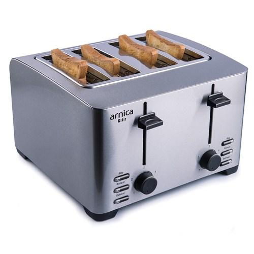 Arnica Kıtır 4 Dilimli Paslanmaz Çelik Ekmek Kızartma