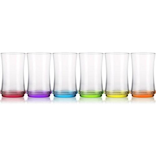 Lav Renkli Meşrubat Bardağı 6'Lı Lun358 Pt068
