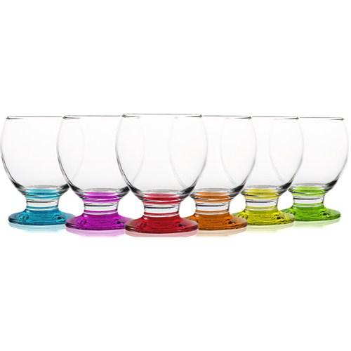 Lav Renkli Meşrubat Bardağı 6'Lı Nec14 Pt